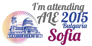 We have a speaker at ALE 2015